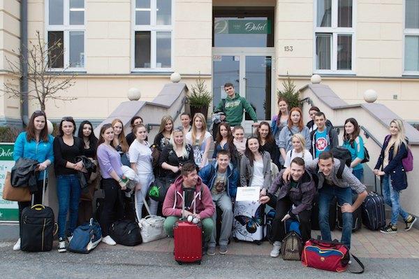 Skalica rozvíja spoluprácu s partnerskou strednou školou v česku