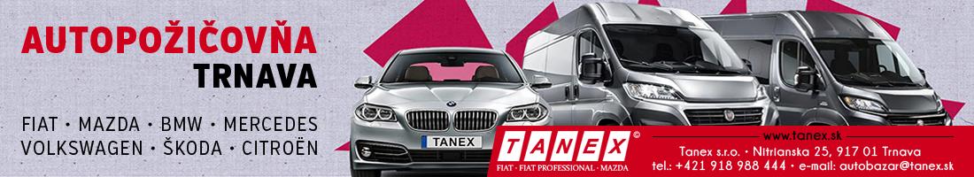 TANEX – pozicovna