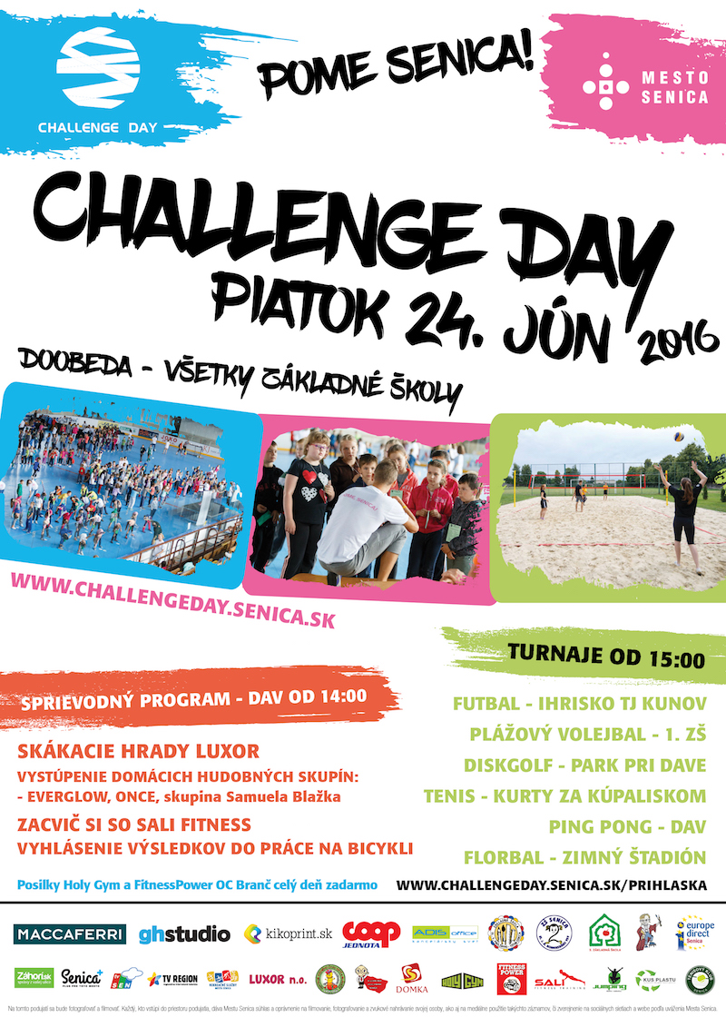 Challenge-Day-pome-senica-plagat