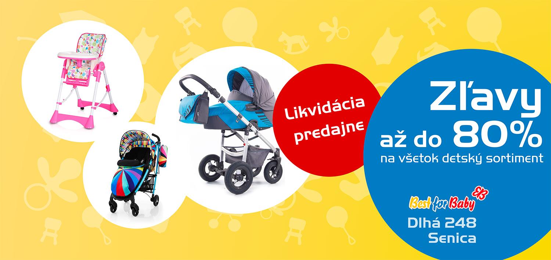 1349bb52df47 Mamičkám dobre známy obchod s kompletnou ponukou detského sortimentu Best  for baby v Senici na Dlhej ulici 248 po rokoch končí s predajom.