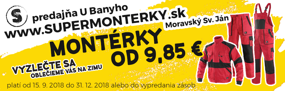 Bany 2018 monterky