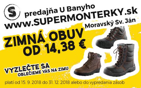 Bany 2018 obuv