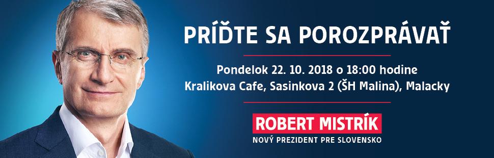 Robert Mistrík Malacky 22.10.