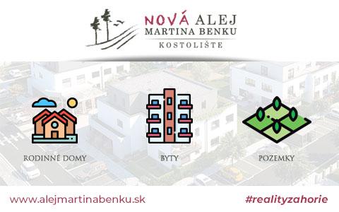 Nová alej Martina Benku