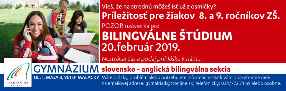 Gymnazium Bilingval 2019