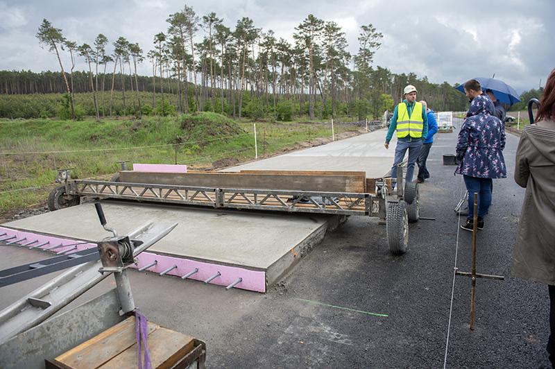 Cesta Rohožnik - Malacky, rekonštrukcia