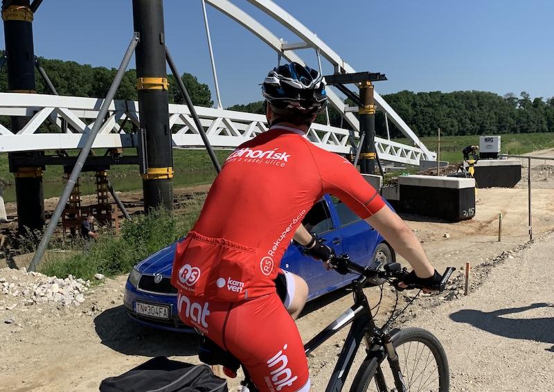Cyklotrasa pri Kopčanoch