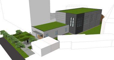 Autorom projektu a vizualizácie je architekt Branislav Škopek z Mestského úradu v Malackách.