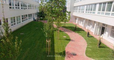 Zrekonštruované átrium základnej školy. Foto: B. Škopek