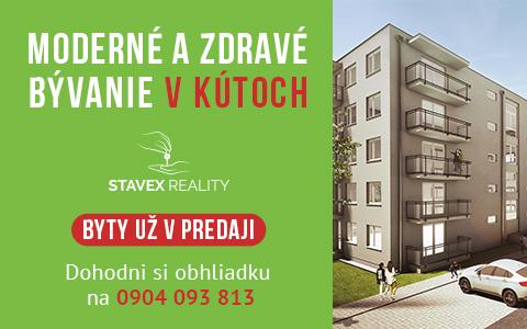 Stavex Kúty bytovka