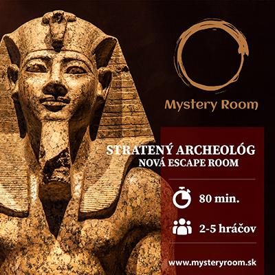 Mystery Room jeseň 2020