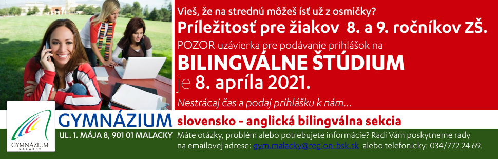 Gymnazium 2021 biling