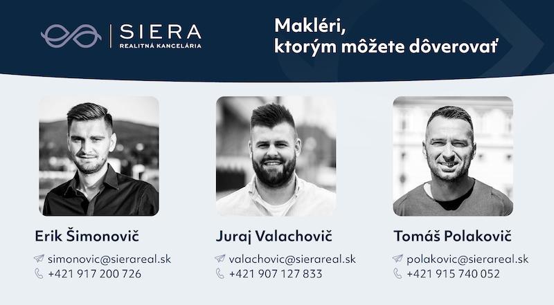 makleri siera real Erik Šimonovič Juraj Valachovič Tomáš Polakovič